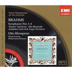 "Brahms: Symphonies Nos. 1-4; ""Haydn"" Variations; Alto Rhapsody; Overtures"