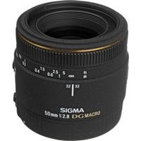 Sigma 50mm f/2.8 EX DG Macro Lens for Canon SLR Cameras