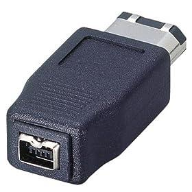 【クリックで詳細表示】ELECOM AD-IE4FT6M IEEE1394変換コネクタ