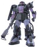 MG 1/100 ザクII 黒い3連星 MS-06R