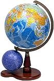 地球儀N26-5W(行政)天球儀付