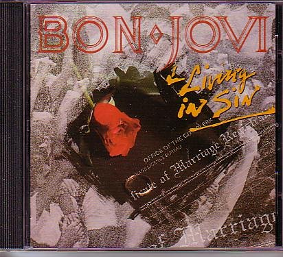 Bon Jovi - Living In Sin - EP - Zortam Music