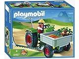 プレイモービル 農家のトラクター 4497