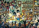 500ピース ミッキーのおもちゃ工房 <光るジグソー> D-500-354