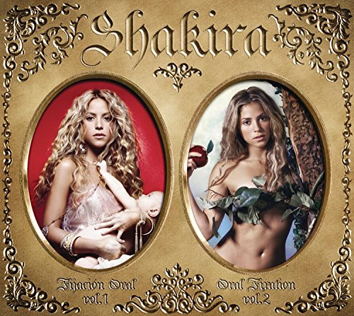 Shakira - Oral Fixation Volumes 1 & 2 [SPECIAL EDITION w/Bonus DVD] - Zortam Music