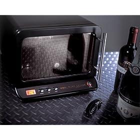 アピックス ワインセラー 6本用(マットブラック) AWC-320