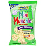 Hain Pure Snax Mini Munchie Rice Cakes, Apple Cinnamon, 3.17-Ounce Bags (Pack of 12)
