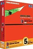V3 ウイルスブロック インターネットセキュリティ 2007 5ユーザパック