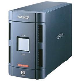 【クリックでお店のこの商品のページへ】BUFFALO HD-W500IU2/R1 USB&IEEE1394 ミラーリング外付HD