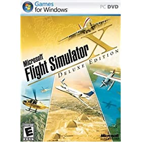 لعبة Microsoft Flight Simulator X Deluxe