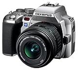 OLYMPUS デジタル一眼レフカメラ E-500 バリューキット シルバー 17.5-45mmレンズつき