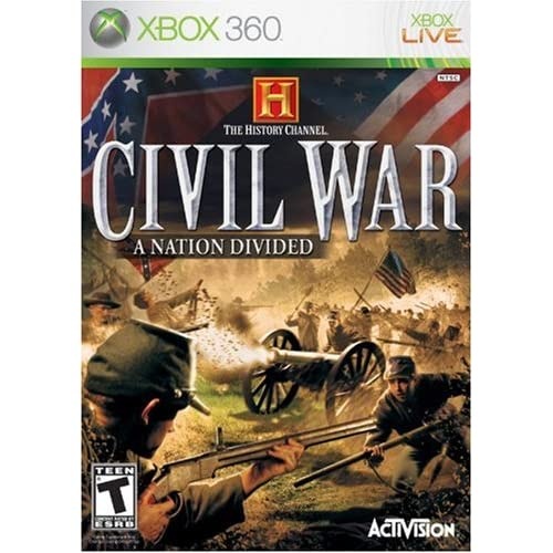 Amazon.com picture of Civil War: A Nation Divided game box