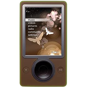 Zune 30 GB Digital Media Player (Brown)