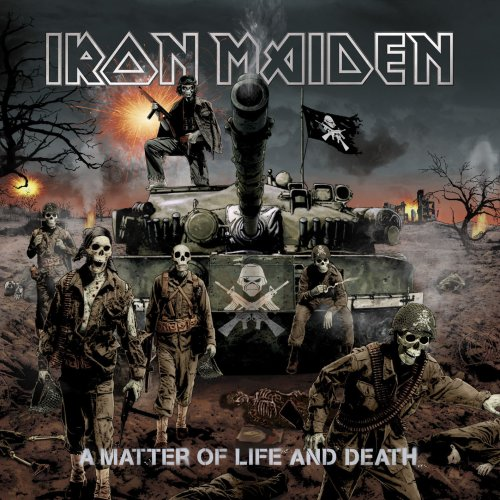 Iron Maiden - Iron Maiden - A Matter Of  Life And Death  ( Limited Deluxe Edition With Bonus DVD ) - Zortam Music