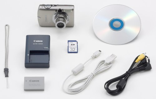 Canon PowerShot SD900 Titanium 10MP Digital Elph Camera with 3x Optical Zoom
