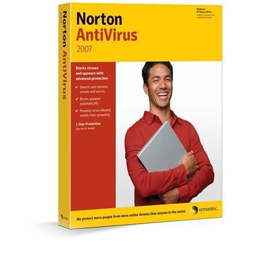 Norton Antivirus 2007 помогает защитить все компоненты компьютера, не позво