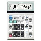 SHARP 脳を鍛える計算ドリル付き電卓 12桁 セミデスクタイプ EL-BS642-X