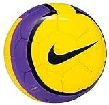 ナイキ T90 スペクトラ ハイビス JFA サッカーボール 720 ビズイエロー/ブラック/パープル 5号 SC1218