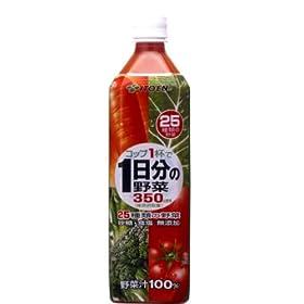 (お徳用ボックス) 25種類の野菜 1日分の野菜 900ml×12本