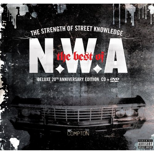 NWA: The best of N.W.A - The Strength Of Street Knowledge (CD/DVD) by N.W.A album cover
