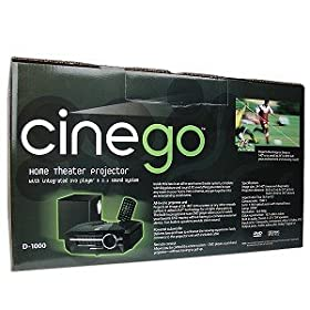 CineGo D-1000 Home Theater DLP Projector System - Review 2