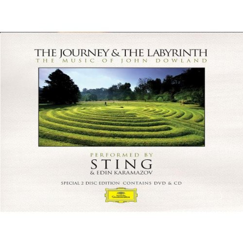 Sting - The Journey & The Labyrinth: The Music of John Dowland (DVD & CD) - Zortam Music