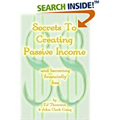 ISBN:B0015KUM3Y Secrets to Creating Passive Income by Thornton & Craig