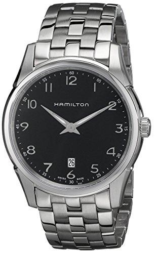 (暴跌)Hamilton汉密尔顿 HML-H38511133 Jazzmaster爵士瑞士制造灰盘银针男表 9.06