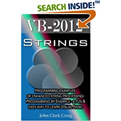 ISBN:B004G095MO VB.Net Strings