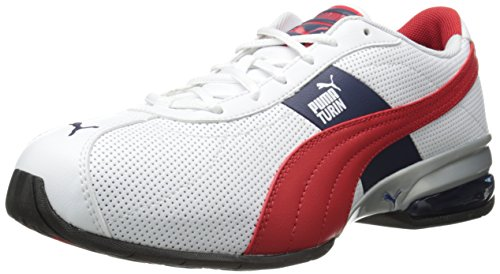 (速抢).96,彪马PUMA 男款真皮全能运动鞋 黑黄 Cell Turin Training Shoe
