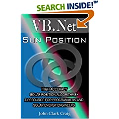 ISBN:B005AJ93F4 Sun Position - High Accuracy #Solar Position Algorithms