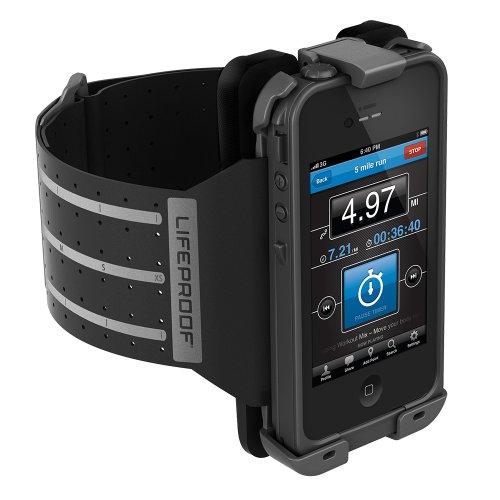 (热销).70 Lifeproof 苹果 iPhone 4/4S 保护套-运动伴侣 臂套 臂带 黑色