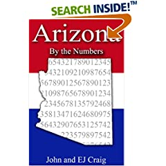 ISBN:B00898JAZ6 Arizona by the Numbers by Thornton & Craig