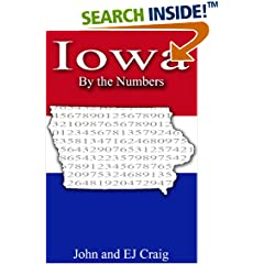 ISBN:B0089G0BWO Iowa by the Numbers by Thornton & Craig