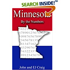 ISBN:B0089GBK06 Minnesota by the Numbers by Thornton & Craig