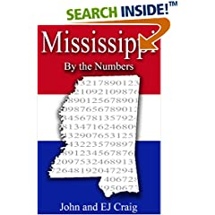 ISBN:B0089GJX1E Mississippi by the Numbers by Thornton & Craig