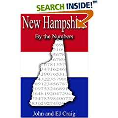 ISBN:B0089MMWF2 New Hampshire by the Numbers by Thornton & Craig