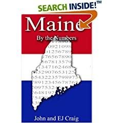 ISBN:B0089MN0N0 Maine by the Numbers by Thornton & Craig