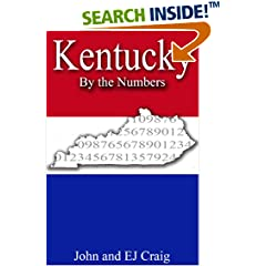 ISBN:B0089MO7LE Kentucky by the Numbers by Thornton & Craig