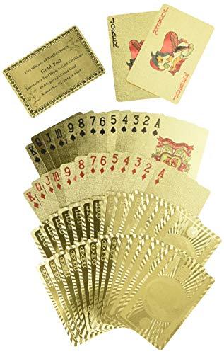 壕就一个字,Trademark Poker 24K 镀金扑克牌