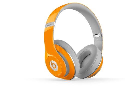 (速抢)魔声 Beats 录音师头戴式音质耳机 橙 Studio Over-Ear Headphones 9
