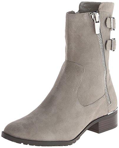 美亚海淘推荐商品:帅气逼人,Calvin Klein 女士斜拉链平底短靴 3折