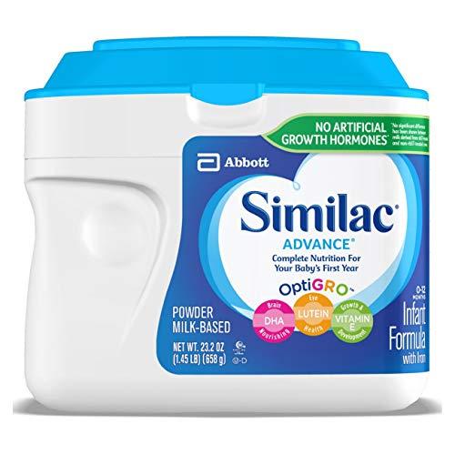 Similac Advance 雅培婴儿1段配方奶粉 658g等优惠信息!