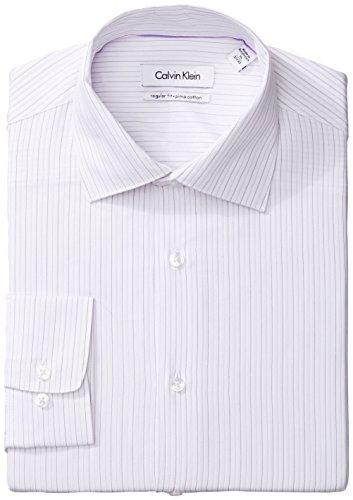 美国亚马逊海淘商品:羊绒棉,Calvin Klein 男士皮马棉通勤衬衣