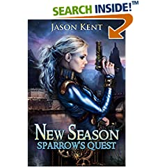 ISBN:B01D1RWP74 New Season - Sparrow's Quest #steampunk #scifi