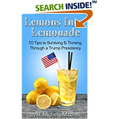 ISBN:B01N96A35M Lemons into Lemonade - 10 Tips to Surviving and Thriving through a Trump Presidency #ThriveAnyway