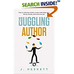 ISBN:B071CX5WH1 The Juggling Author by Jim 