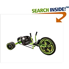 ISBN:B072MQPY2Z Huffy Green Machine 20-inch Trike, 2018 Version, Ages 8 and Older, with 180-Degree Spins and Awesome Drifts by Huffy